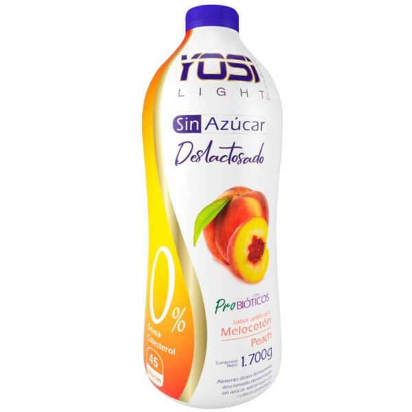 yogurt sin azucar melocoton yosi