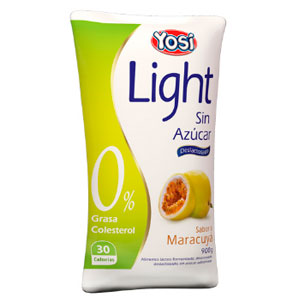 Yosil ight maracuya yogurt sin azucar