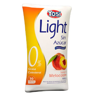 yosi light melocoton yogurt sin azucar