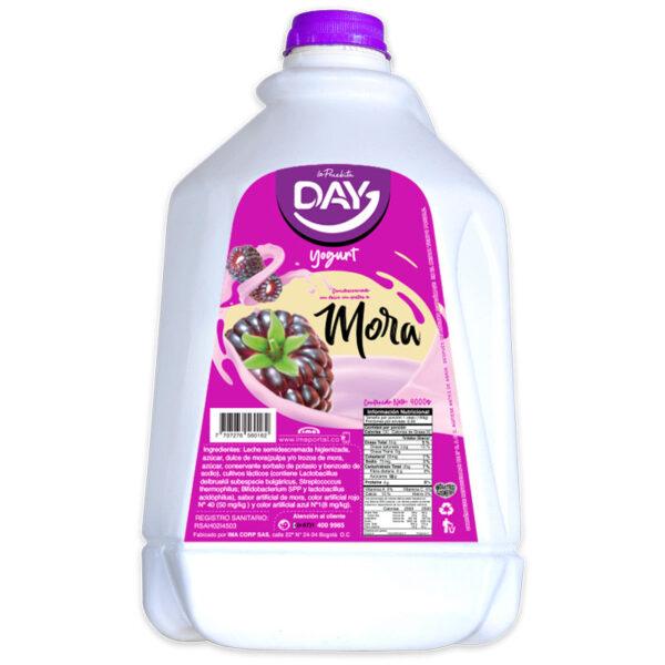 yogurt fruta mora garrafa 4000g day la pruebita