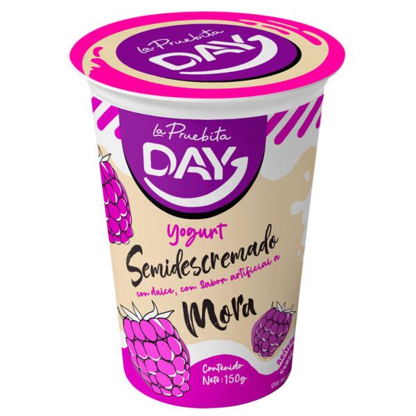 yogurt con mora day la pruebita ima
