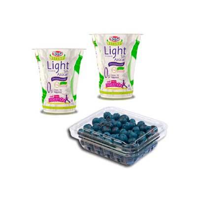 yogurt sin azucar arandanos