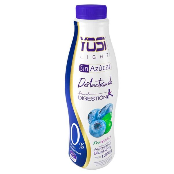Yogurt sin azucar apto para diabeticos bogota yosi light arandanos