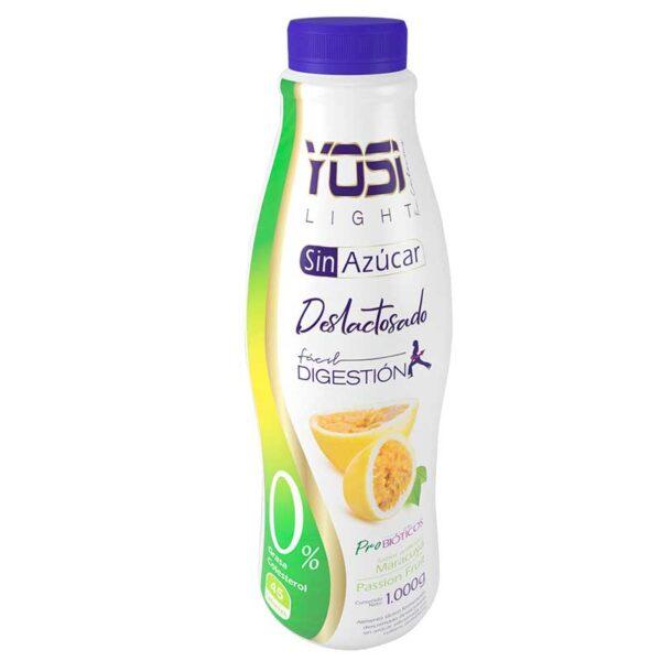 Yogurt sin azucar apto para diabeticos bogota yosi light maracuya