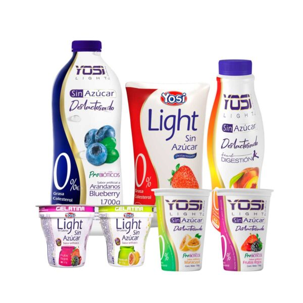 yosi light yogurt sin azucar